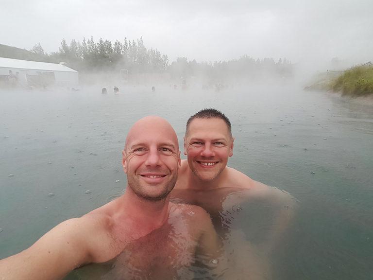 Heiße Quellen auf Island
