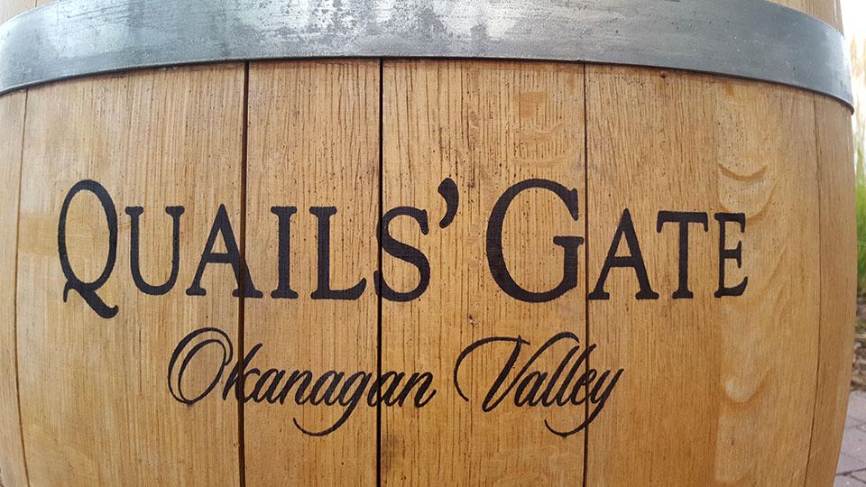Okanagan Valley Quail's Gate